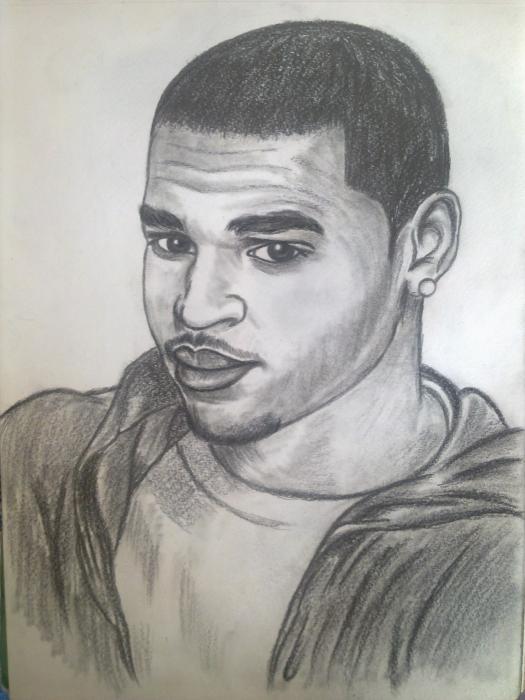 Chris Brown by alexandru91